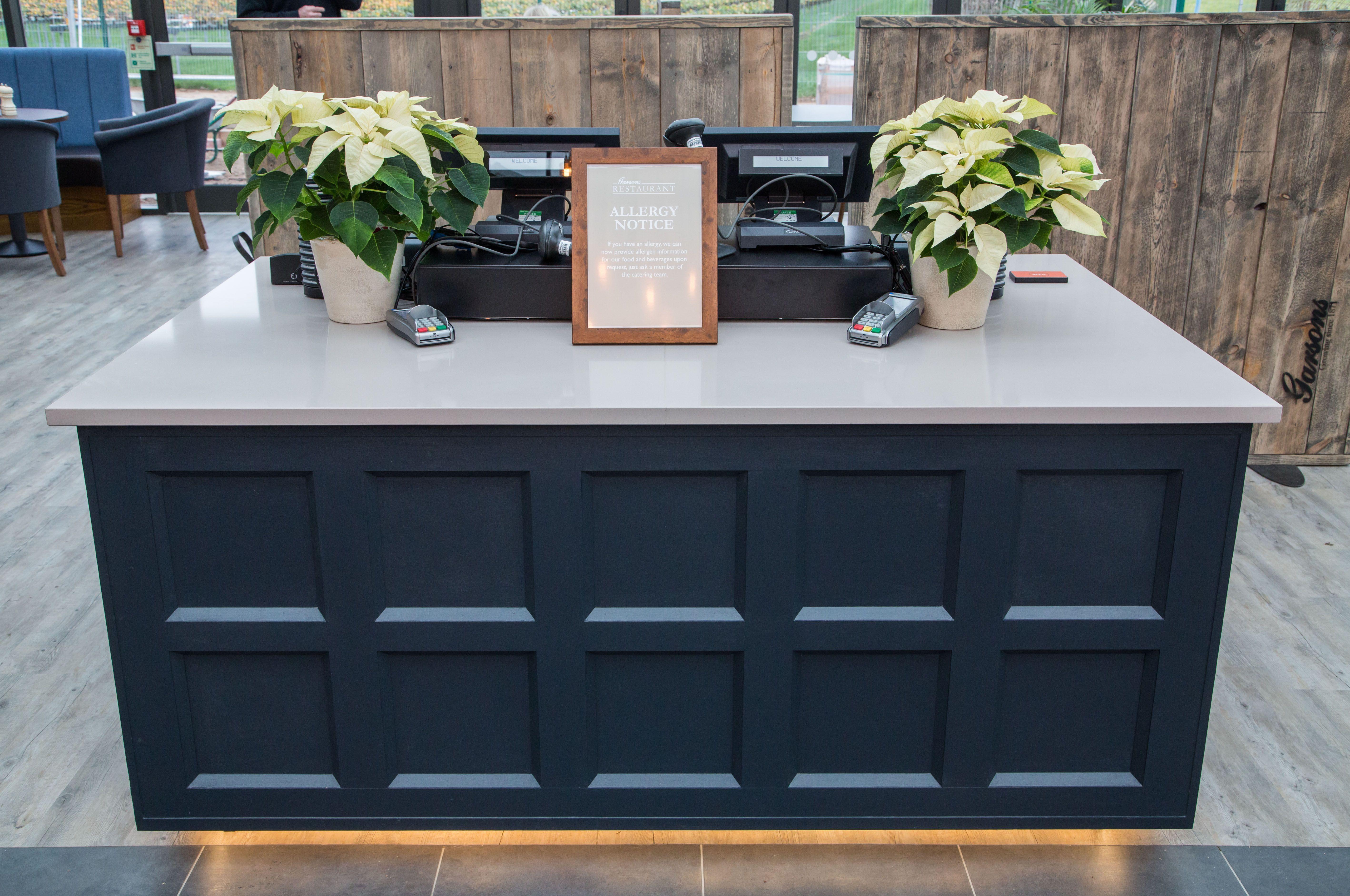 Garsons Garden Centre Cashier Counter