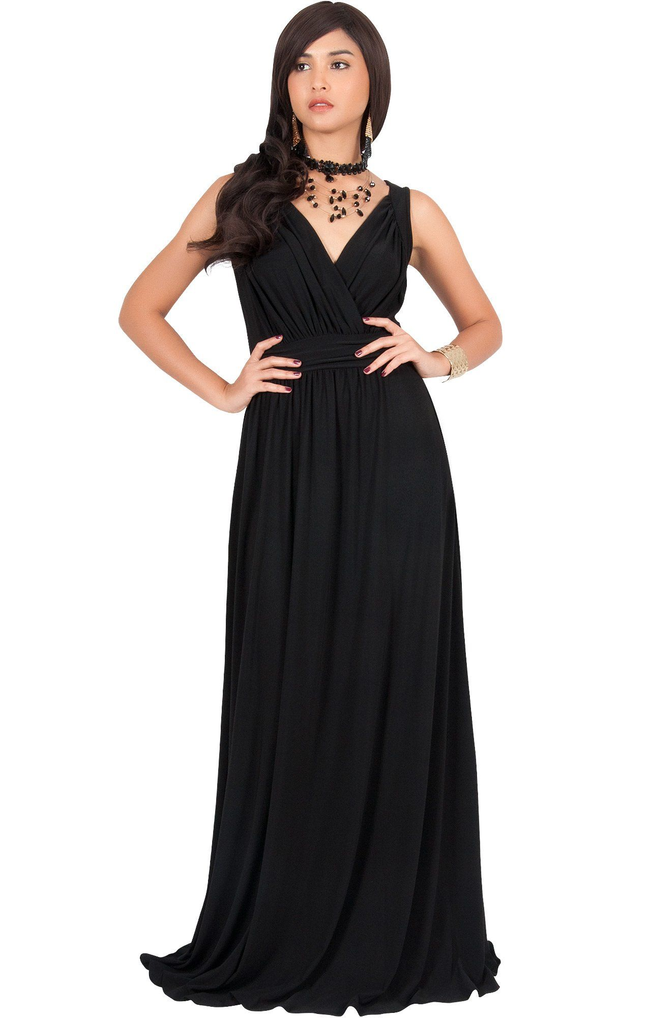86a7d130a18 Maternity Outfits - best maternity dresses   KOH KOH Plus Size Women Long  Sleeveless Flowy Bridesmaids Cocktail Party Evening Formal Sexy Summer  Wedding ...