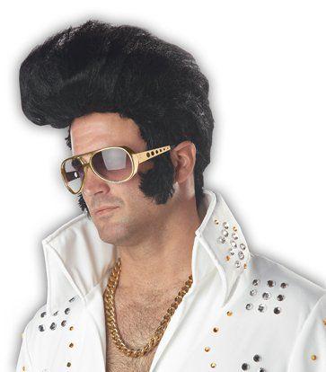DELUXE Boys Elvis Presley Costume Kids Rock n Roll Star King Fancy Dress 50S