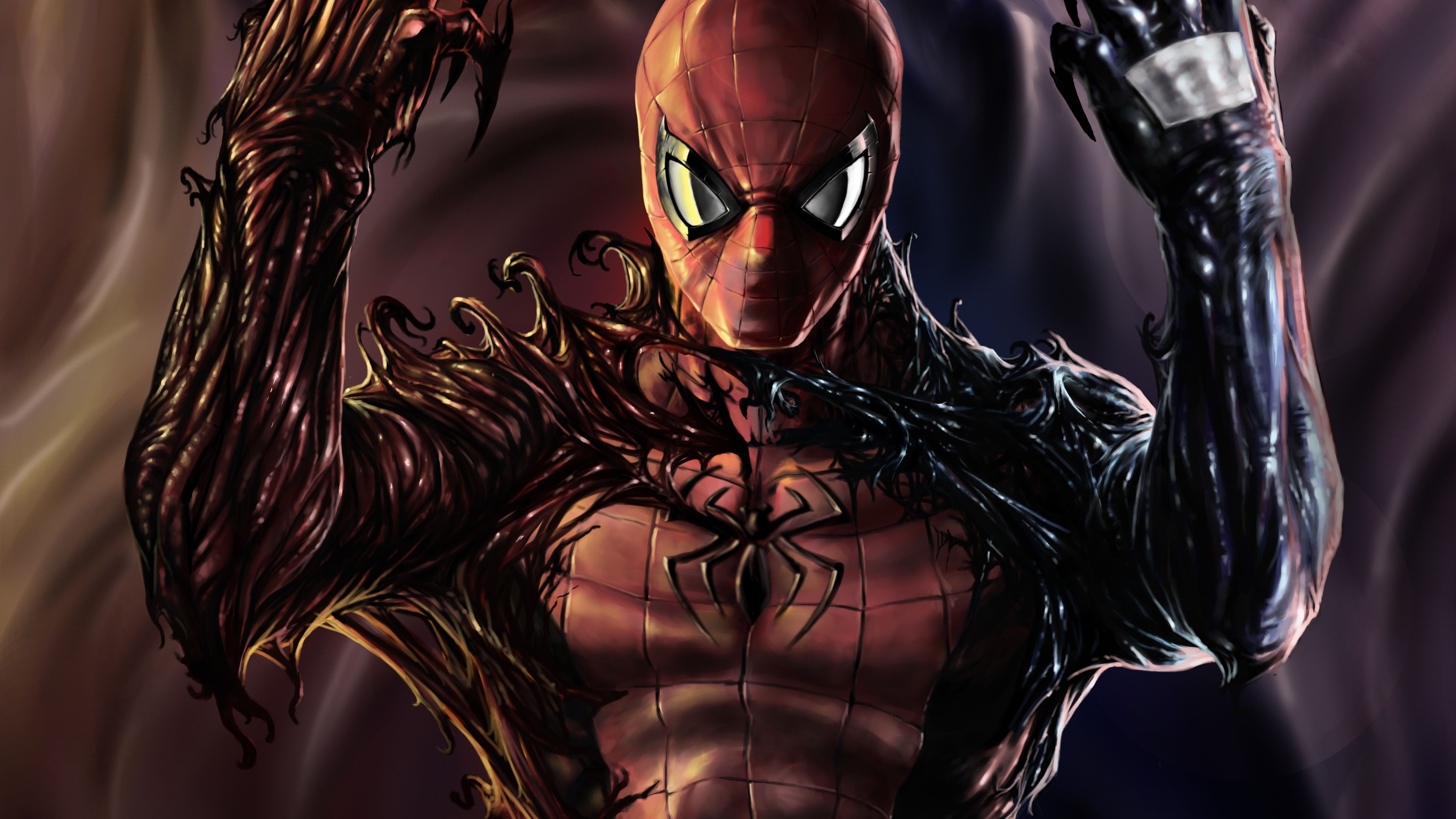 Carnage Venom Spiderman Artwork Venom Wallpapers Superheroes Wallpapers Spiderman Wallpapers Hd Wallpapers Carnag Spiderman Artwork Venom Spiderman Carnage