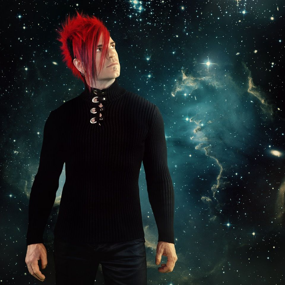 Klayton of Celldweller's epic Mohawk   Cool Hairstyles