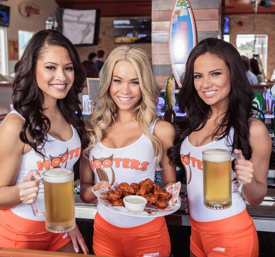 Pin on Hooters
