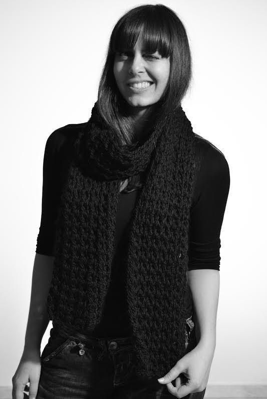 Alexandra Velentza, Designer, reveals herself before her atomic exhibition at ''Fouar'' -Athens.