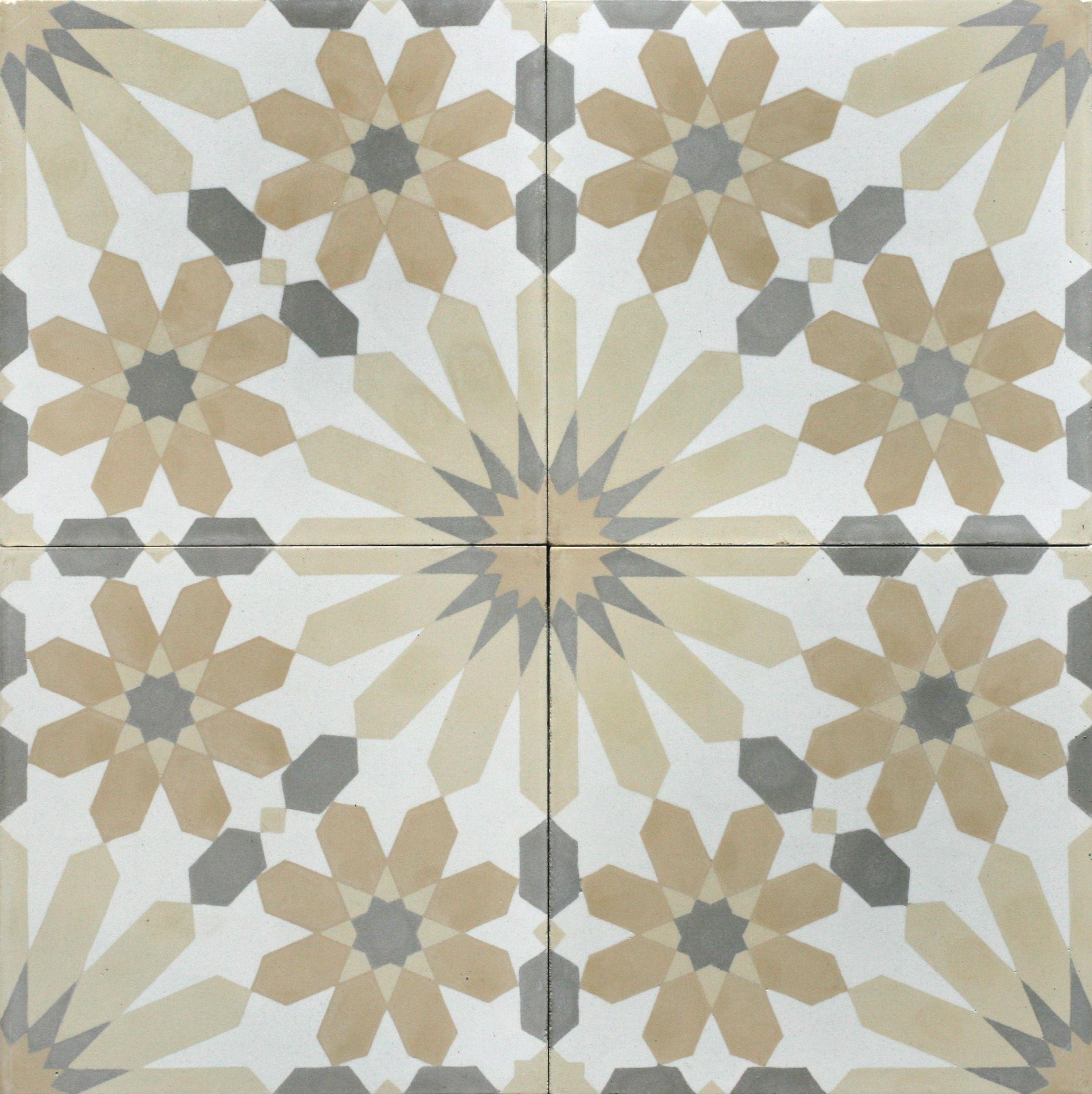 Casa Sands New Encaustic Cement Tile Bespoke Tile And Stone Encaustic Tile Cement Tile Encaustic Cement Tile