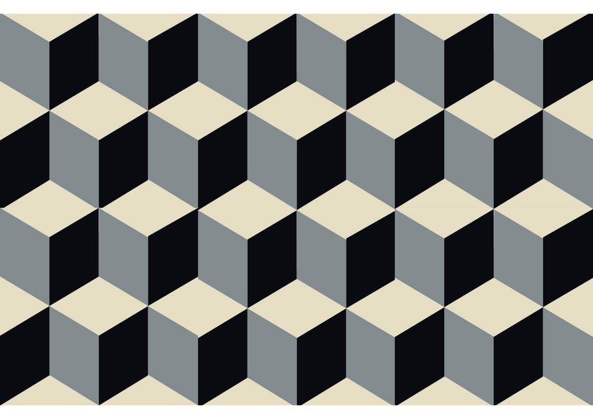 carreau ciment effet 3d tiles pinterest carrelage couloir ciment et carrelage. Black Bedroom Furniture Sets. Home Design Ideas