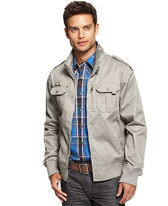 49a62e60e Marc Ecko Cut & Sew Coats, Bobber Jacket - - Macys | Clothing in ...