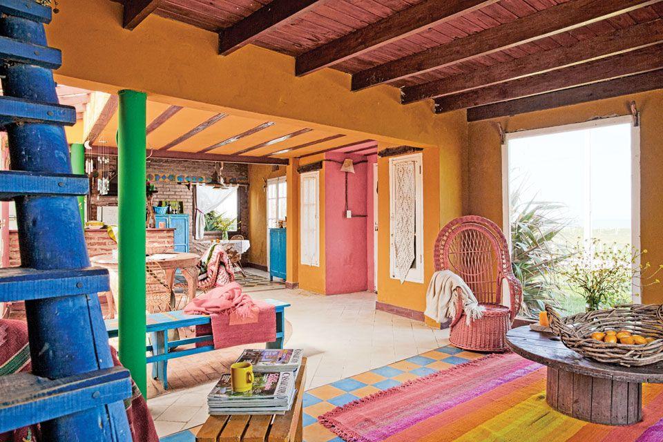 Estilo campo 2 casas con decoraci n artesanal - Decoracion apartamentos playa ...