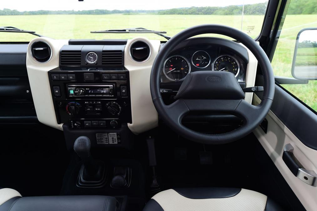 land rover interior 2015. land rover defender autobiography interior 2015