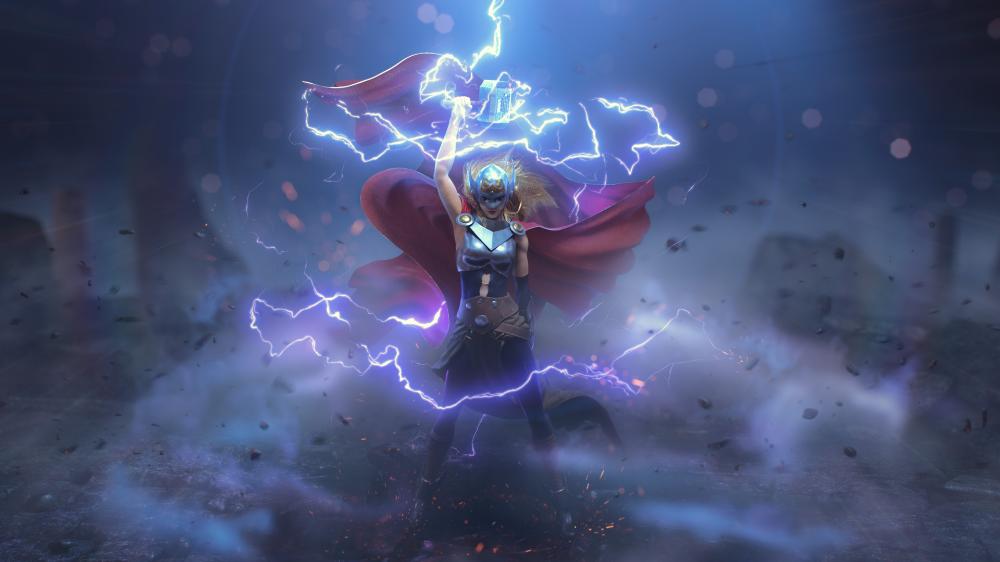 ArtStation Allmighty Thor, Santiago O'Shea Female thor