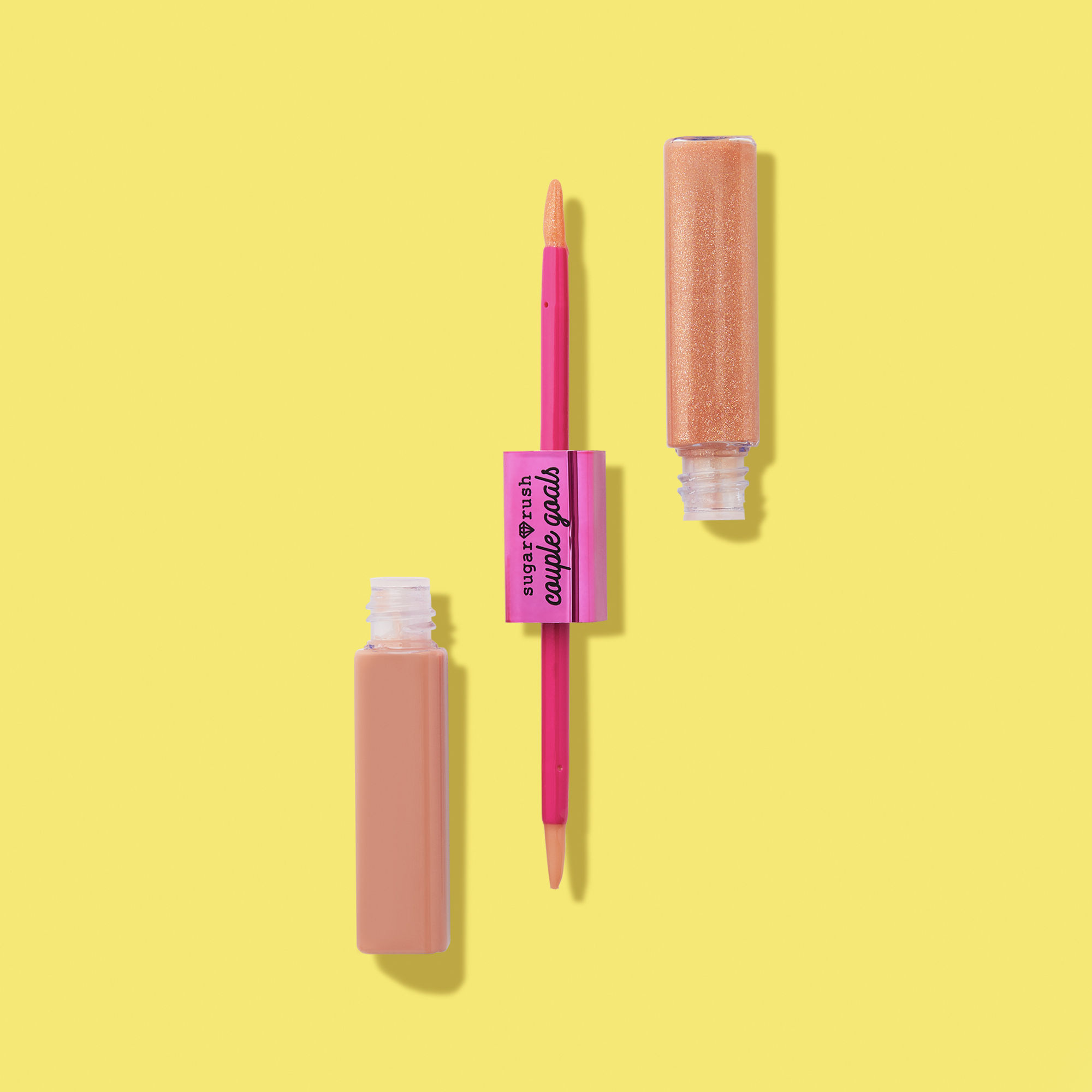 sugar rush™ couple goals doubleended lip gloss Lip