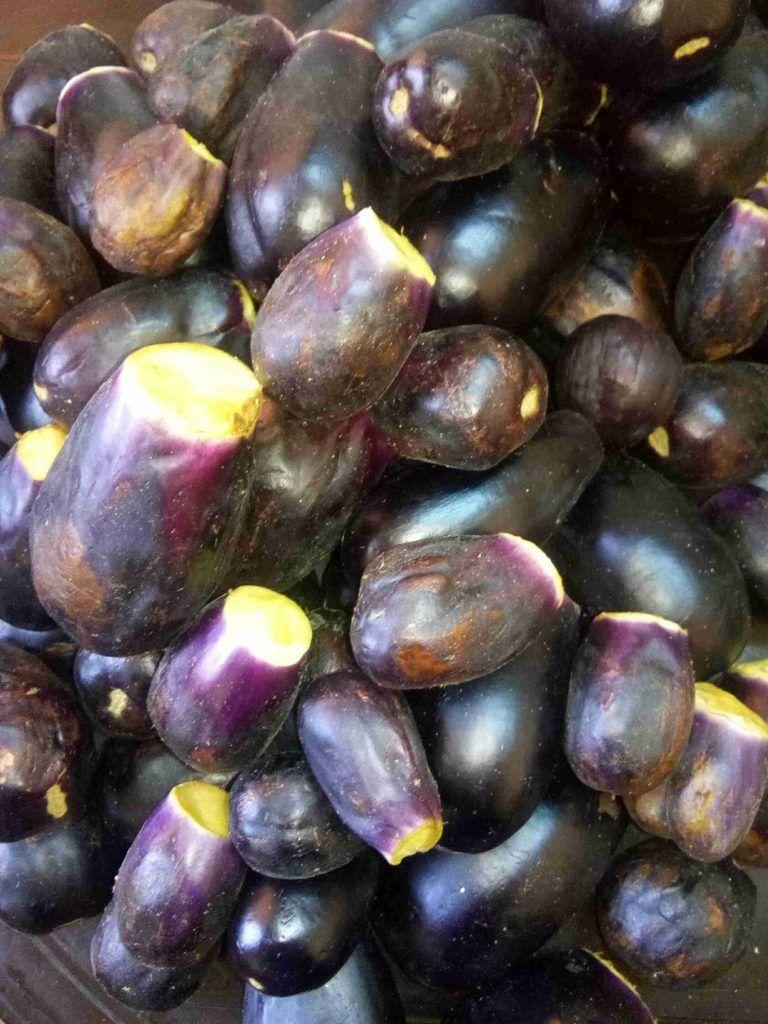 طريقة عمل المقدوس زاكي Recipe Eggplant Grapes Eat Right