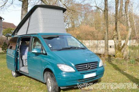 Location Camping Car Van Mercedes Viano Marco Polo 4x4 Mercedes