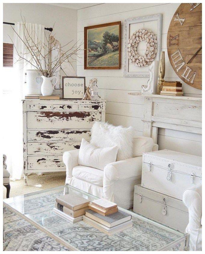 Cozy Farmhouse Living Room Decor Ideas 53: 52 Cozy Farmhouse Living Room Decor Ideas 50 In 2019