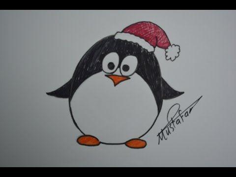 تعلم الرسم الدرس الخامس كيفية رسم بطريق مدغشقر بالرصاص والالوان للمبتدئين مع الخطوات Youtube Drawing For Kids Drawings Pen Art