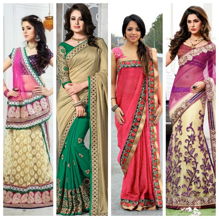 There are different styles for wearing saree. You can look ...
