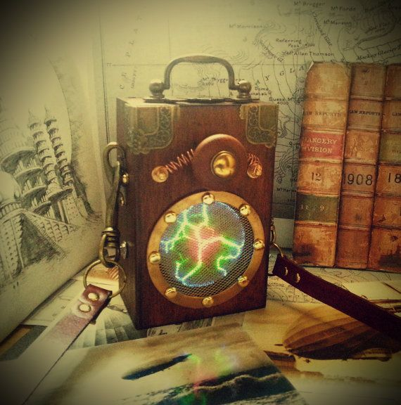 Steampunk S.T.E.A.M (Space Time Evocation And Manipulation) Device