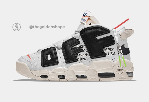 Off White x Nike Air More Uptempo The Twelve   Nike air