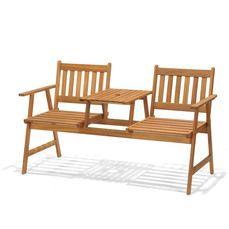 Awe Inspiring Fsc 3 Seater Garden Fence Bench Garden Side Ideas Short Links Chair Design For Home Short Linksinfo