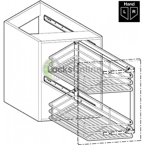 45 degree pull out storage unit for 300mm cabinet width 45 degree pull out storage unit for 300mm cabinet width   kitchen      rh   pinterest com