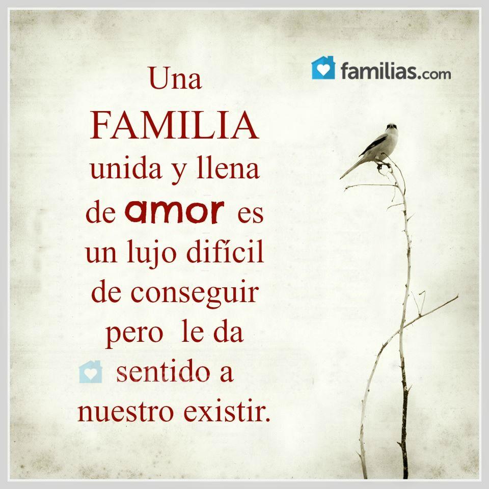 Una Familia Unida Y Llena De Amor Frases Bonitas Familia