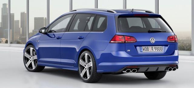 Vorverkauf Teil 2: VW Golf R Variant nun ebenfalls bestellbar | Golf ...