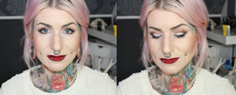 Schlupflider schminken tutorial augen gr er schminken youtube you tube video pinterest - Schlupflieder schminken ...