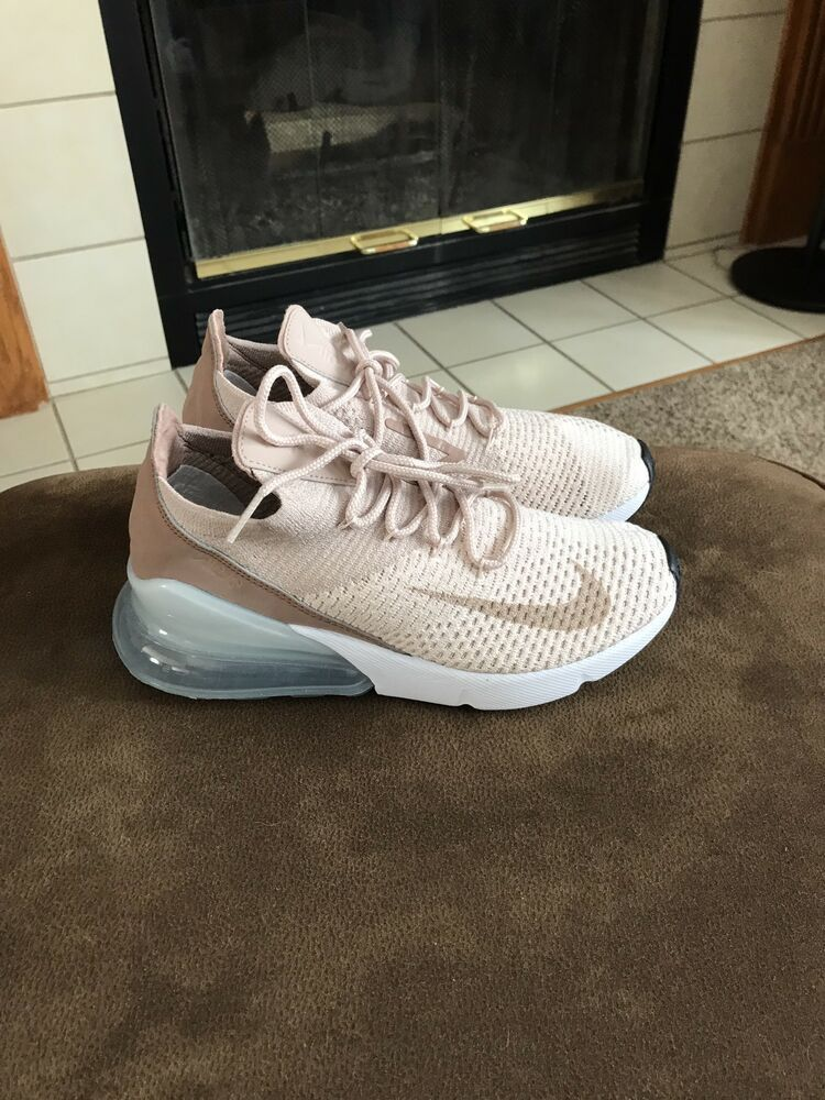 Nike Air Max 270 Flyknit Womens Size 5 Guava Ice Blue 180 Authentic Shoes Nike Airs This Is A Link To Amazon Adidas Shoes Women Cute Nike Shoes Kicks Shoes