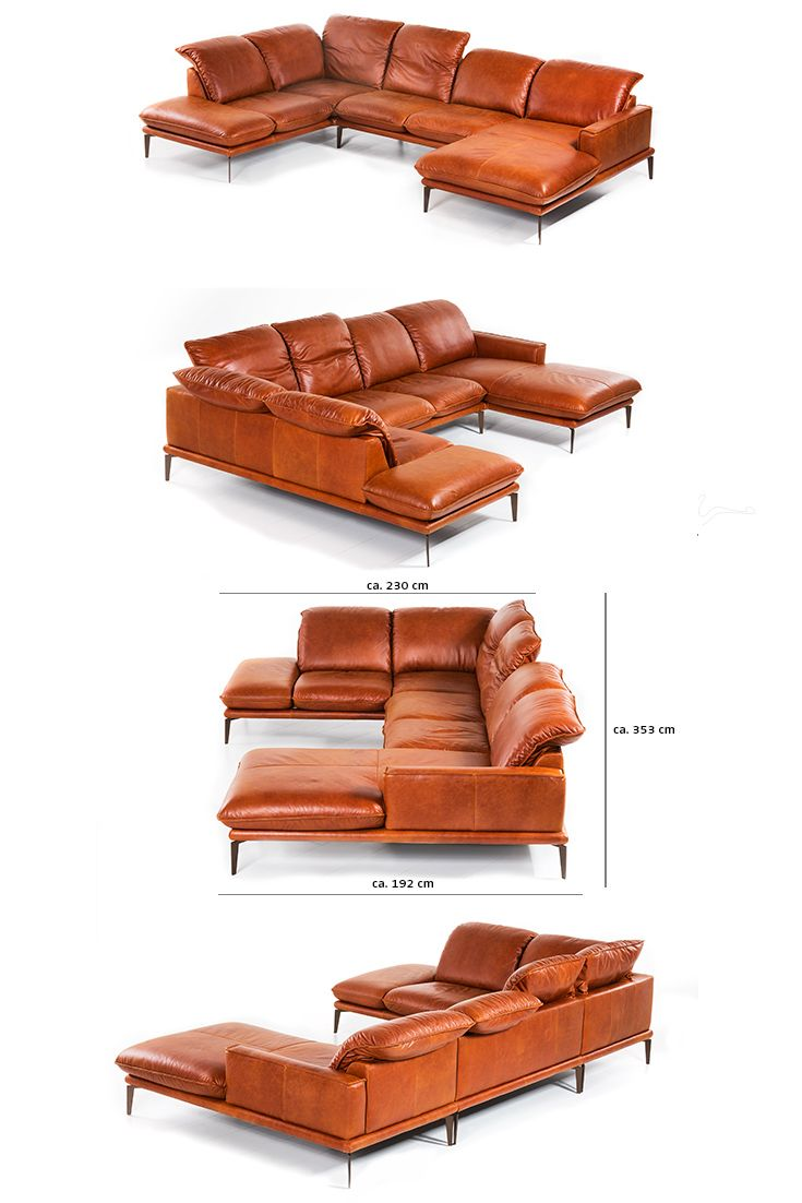 Sessel Schillig Sofa Garnitur Sherry Sofalandschaft Von W Schillig Als U Form In