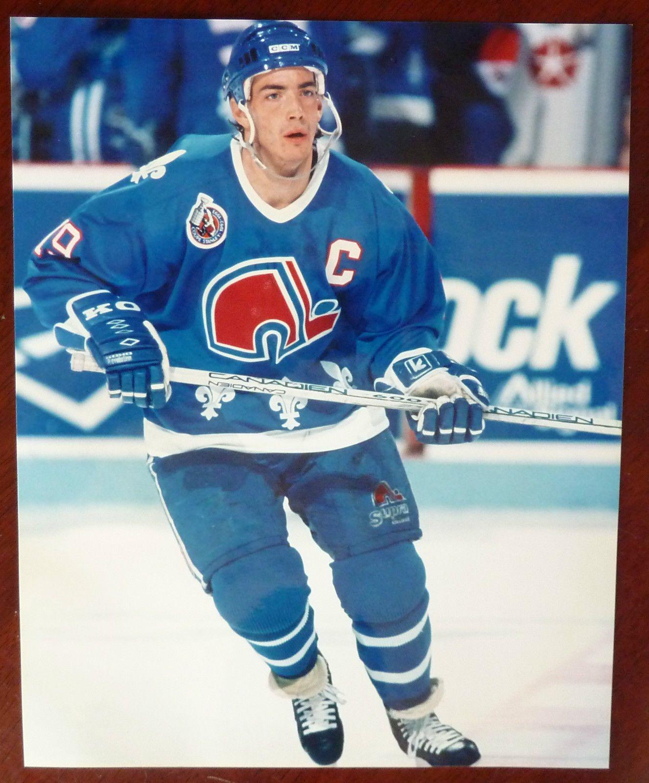 Nhl Quebec Nordiques 19 Joe Sakic 8 X 10 Photo Official Sports Photos Ebay