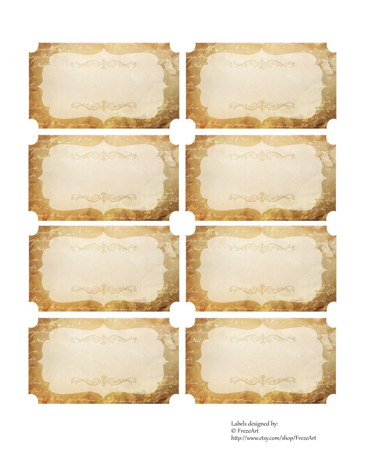 Free Vintage Jar Labels On Digital Collage Sheet Printable Digital Mason Jar Labels Greeting Cards For S Collage Sheet Digital Collage Digital Collage Sheets