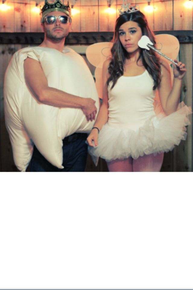 120 Creative DIY Couples Costumes for Halloween | Tooth fairy ...