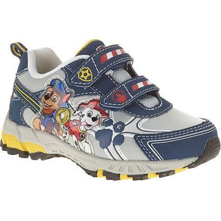 Chaussures Bleu De Patrouille Canine Avec Enfants Velcro ypesFdm5