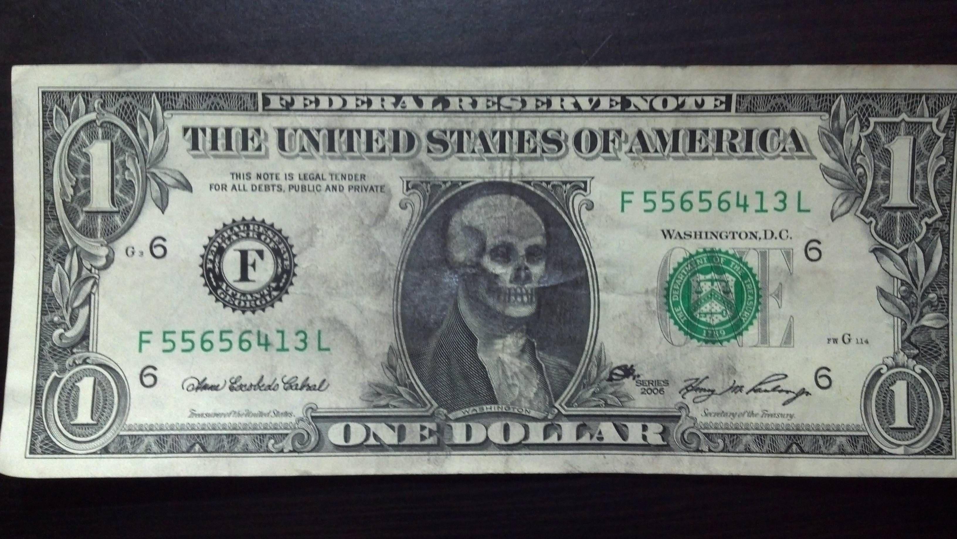 Imaginative Money Graffiti