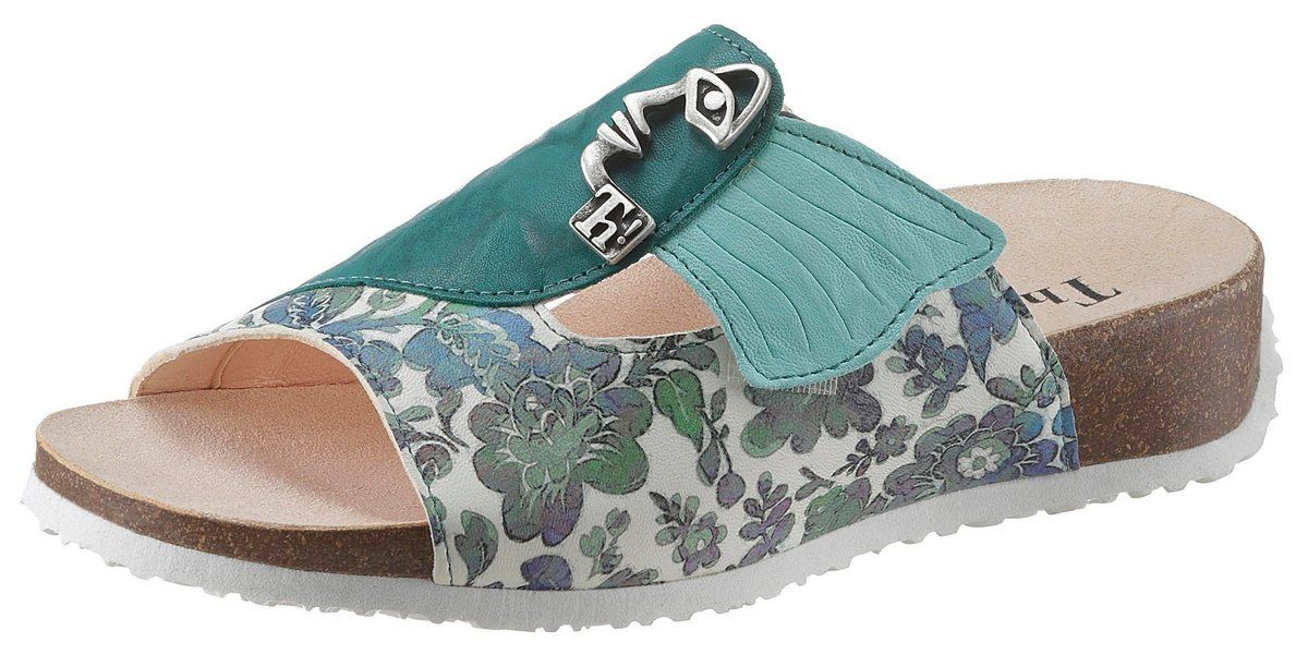 Photo of »Mizzi« Pantolette mit Blumenprint