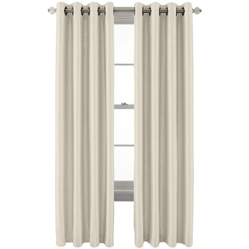 b991c69706a Royal Velvet Plaza Grommet-Top Lined Blackout Curtain Panel ...