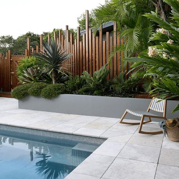 Beautiful Pool Landscaping Ideas A Minimalist Swimming Pool On Your Backyard Backyard Pool Pool Landscaping Backyard
