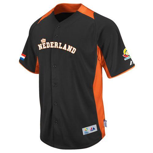 Netherlands 2013 World Baseball Classic Authentic Road Jersey - MLB.com Shop