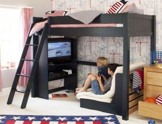 High Sleeper Beds For Kids Boy Bedroom Design Bedroom Design