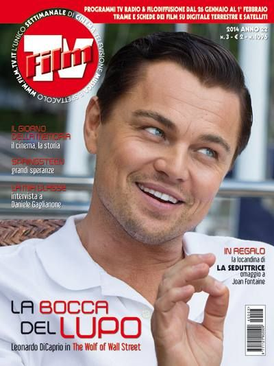 #leonardoDiCario #TheWolfofWallStreet dal 23 Gennaio al Cinema -Cover Film TV