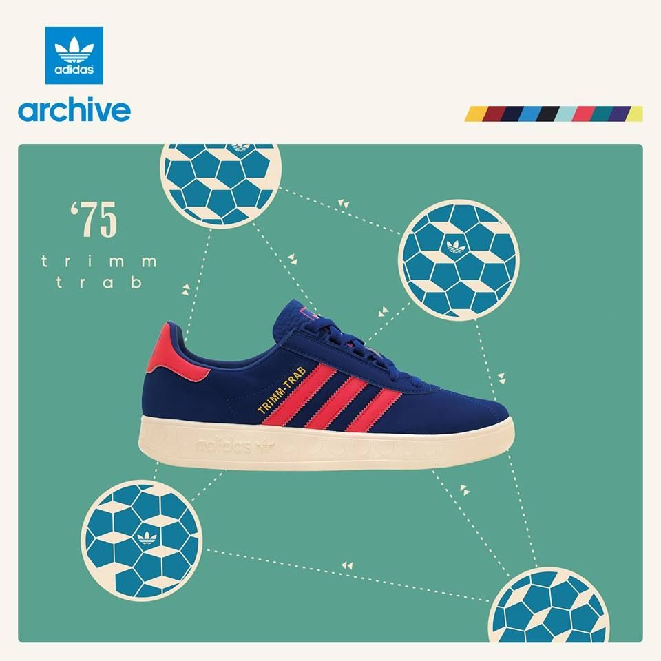 adidas Originals Trimm Trab | Sneaker Adverts | Pinterest | Adidas ...