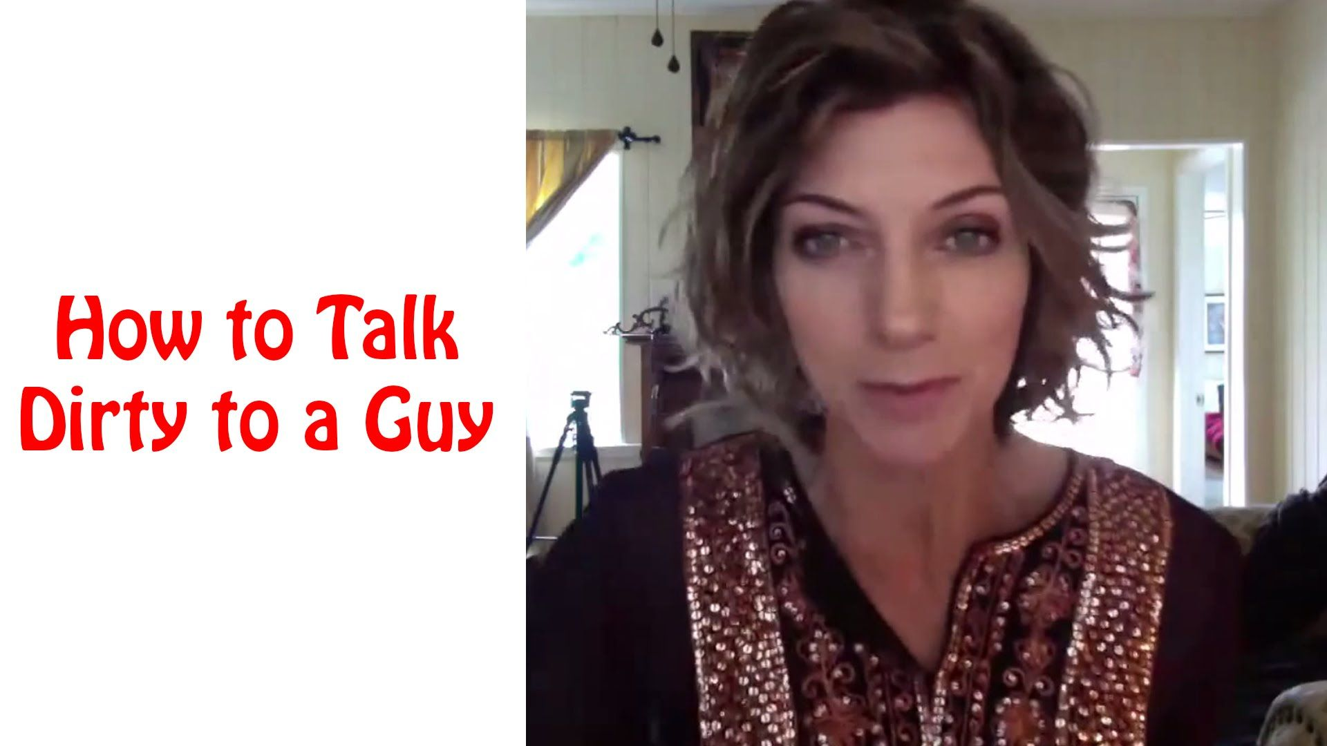 How To Talk Dirty To A Guy Online