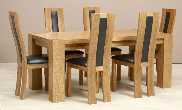 impressionnant chaise pour salle a manger en bois Décoration