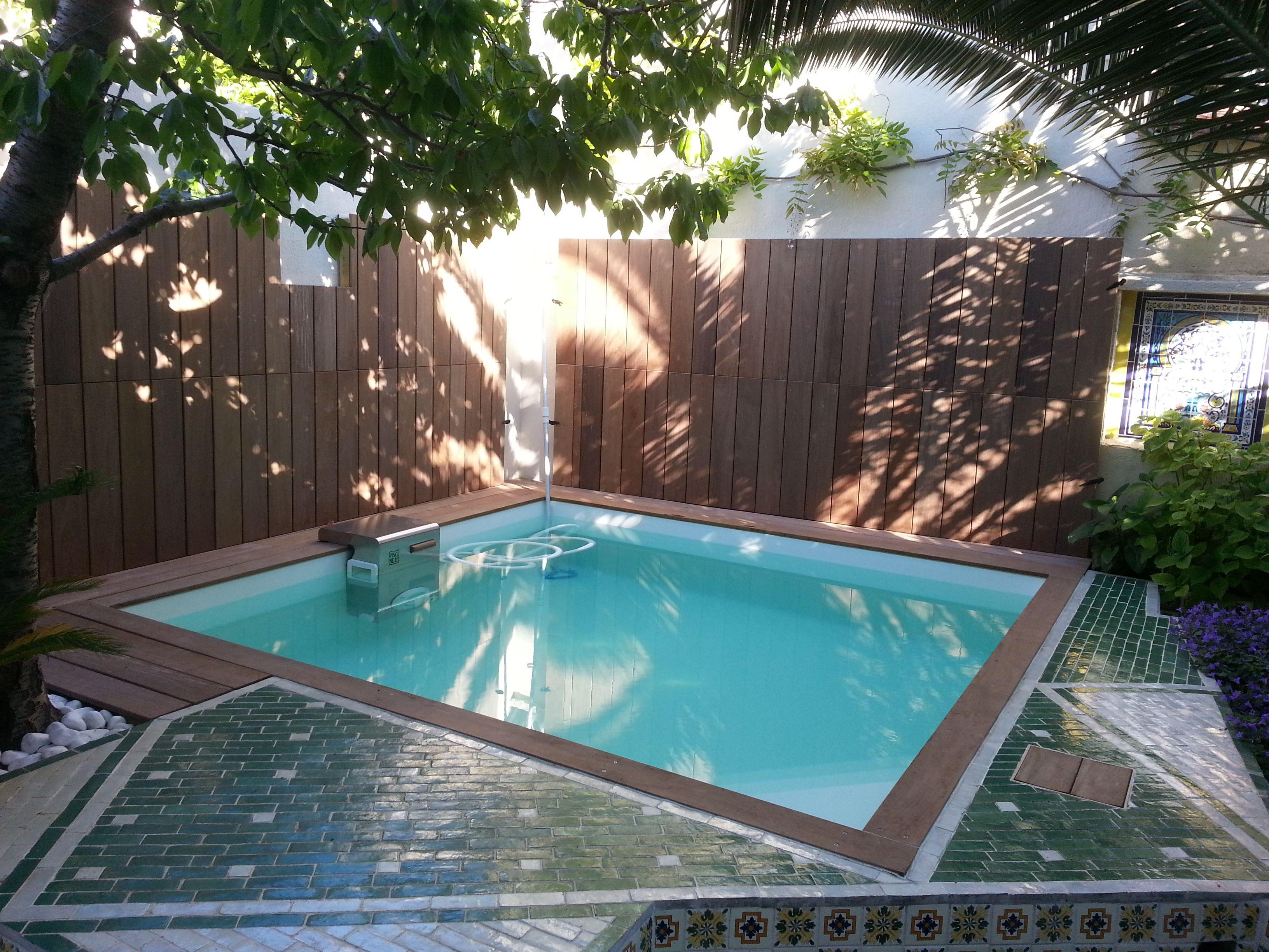 luxe piscine enterr e pour petit jardin 2018 piscine. Black Bedroom Furniture Sets. Home Design Ideas