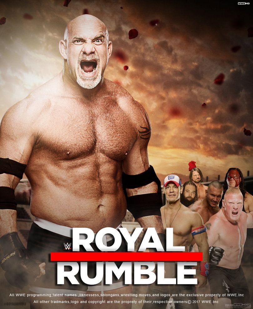 Wwe Royal Rumble 2017 Poster V2 By Edaba7 Deviantart Com On