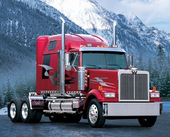 Aren T Stars Pretty Western Star Trucks Custom Trucks Big Trucks