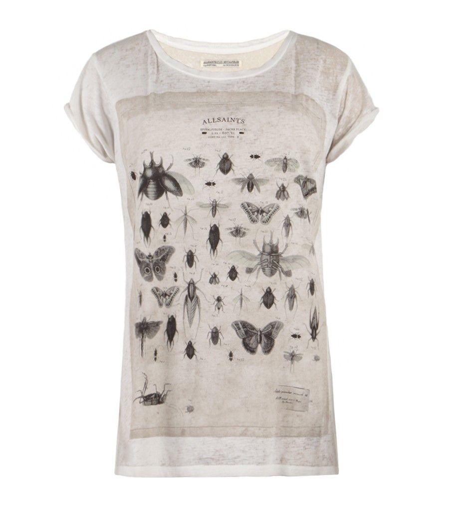 Specimen T-shirt, Women, Graphic T-Shirts, AllSaints Spitalfields