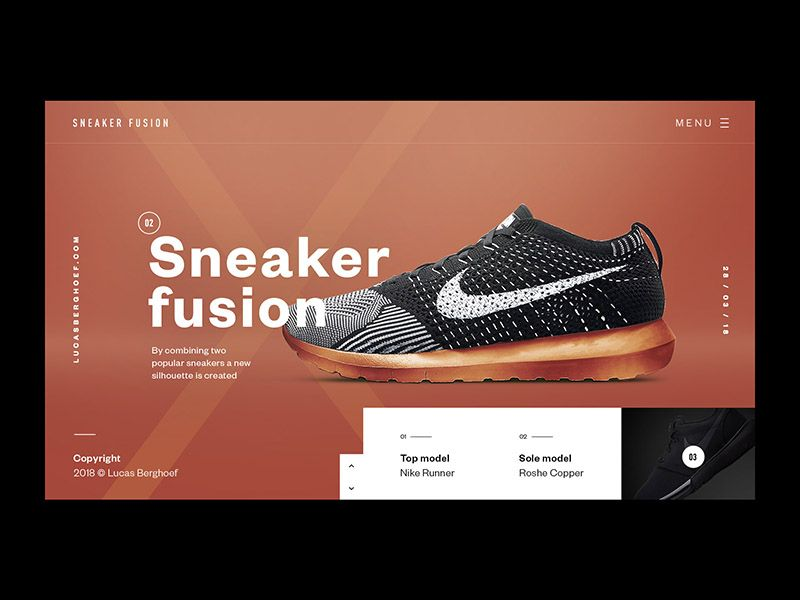 Runner X Roshe Run Nm Sneaker Fusion Minimalist Web Design Sneakers Ux Design Inspiration