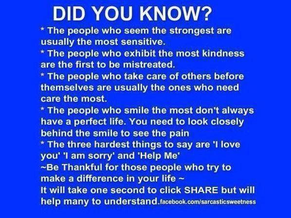 Did U Know?! Plz❤