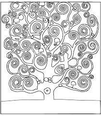 Resultado de imagem para desenhos colorir joane miro for Albero della vita da stampare e colorare
