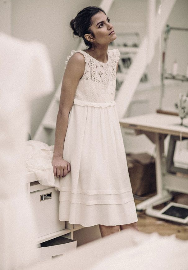 laure-de-sagazan-short-casual-bridal-gown-wedding-dress-french-chic4 ...